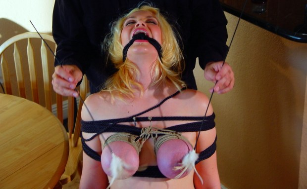 Breast Bondage Tickling
