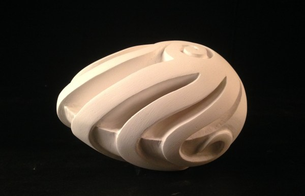 Non-Objective Plaster Sculptures