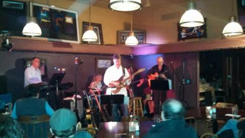Jon Hughes, Ward Grifiths, Chris Baum and Mike Doolin at O'Connor's Portland, OR