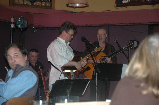 Jon Hughes, Ward Griffiths, Mike Doolin at O'Connor's Portland, OR