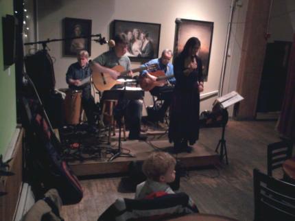 Samba Meu at Black Dog Cafe 2-9-12