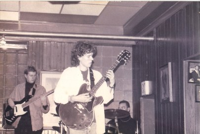 My first band 'Black and White' at JD's Jazz Club in Huntington, WV