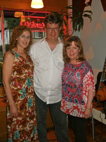 With Martha Alkins and Connie Olson