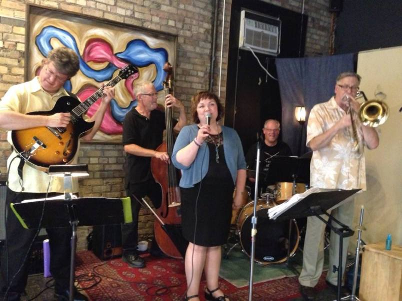 With Maryann Sullivan and Corner Jazz