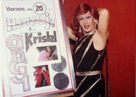 """Homenaje a Angy Krystel en la sala """"Nerón"""" 1979"""
