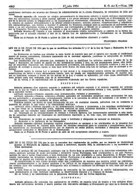 Ley de 15 de Julio de 1944 donde se criminaliza la homosexualidad