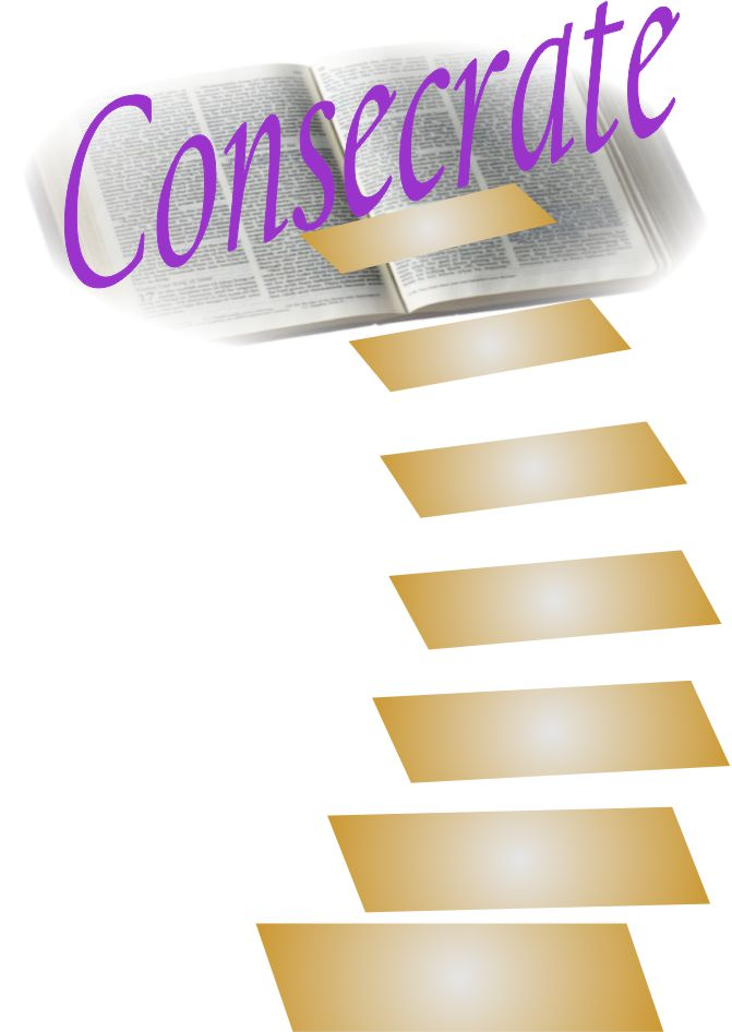 consecrated mentioned in the Holy Bible KJV