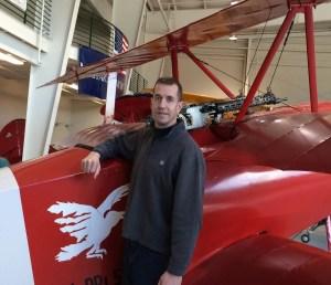 Author David McCaleb von Richthofen