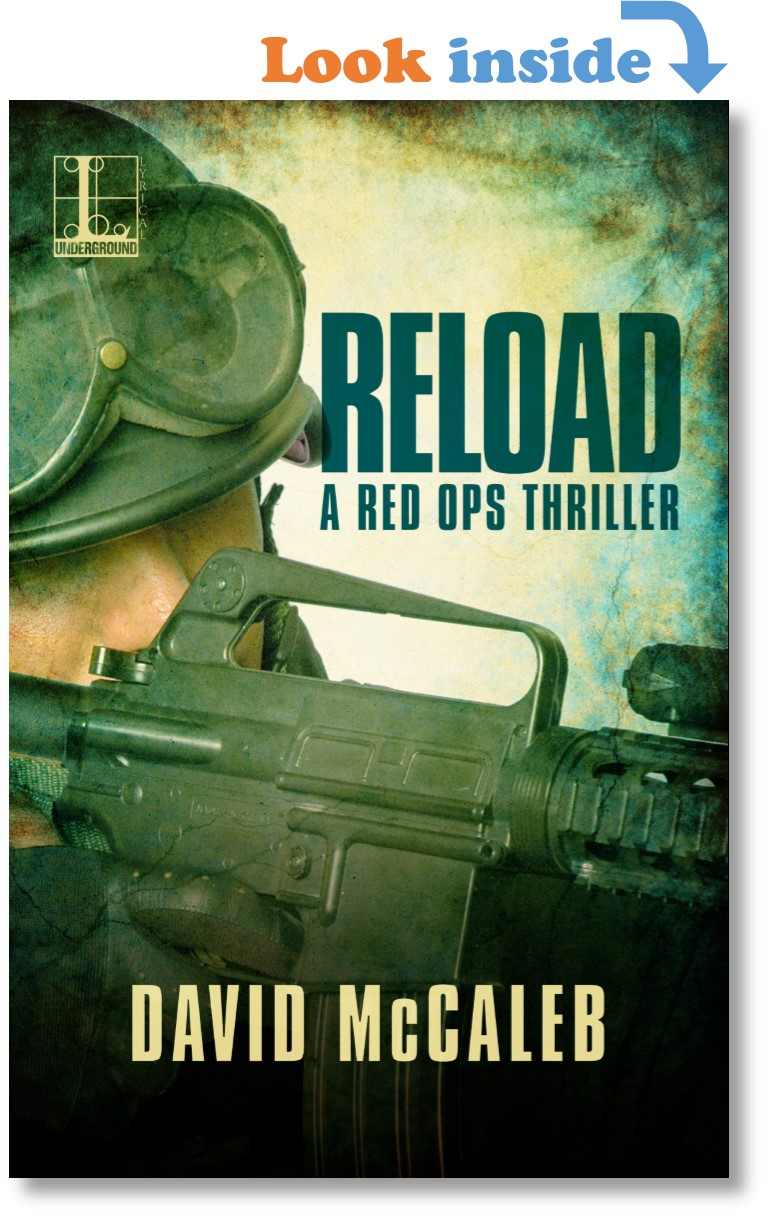 Cover for novel RELOAD by David McCaleb