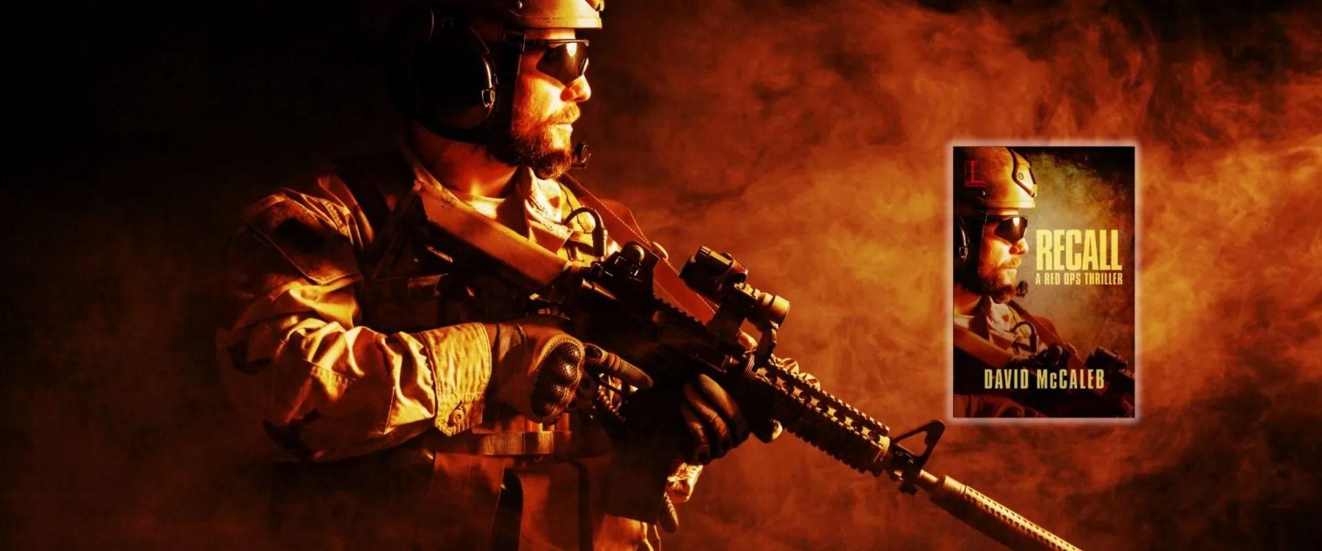 Special ops soldier, header RECALL slider image