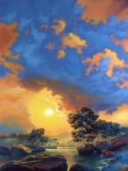 "quiet inspiration | 40"" x 30"" acrylic on canvas"