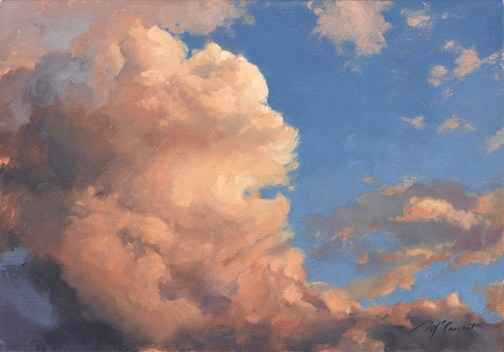afternoon delight | 14 x 20 in. oil on canvas