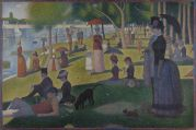 Georges-Pierre Seurat, Sunday Afternoon on the Island of La Grande Jatte