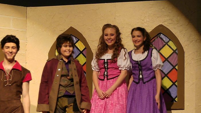 Leigha and Josiah were AMAZING in their production of Beauty and the Beast!