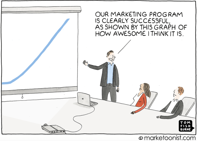 Vanity metrics are a huge marketing mistake