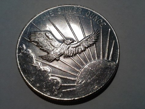 1 OZ .999 Fine Silver South East Refining, Inc. Flying Eagle Round