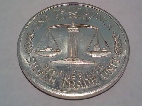 1 OZ .999 Fine Silver Trade Unit – Great Northwest Edition Round