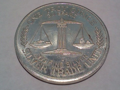 1 OZ .999 Fine Silver Trade Unit – Great Northwest Edition Round