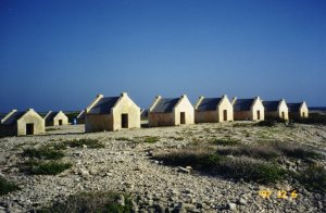 Slave dwellings on Bonaire