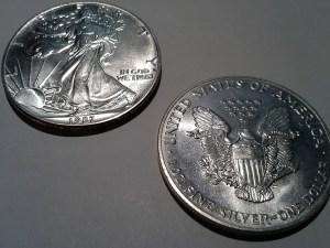 1987 Silver American Eagle 1 OZ .999 Fine Silver Dollar