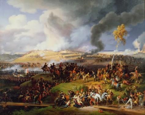 Battle of Borodino 1812 by Louis Francios, Baron Lejeune