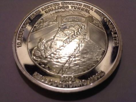 1981 BH-2 Bunker Hill Company Medallion Series .9995 Fine Silver 1OZ Round - Rare