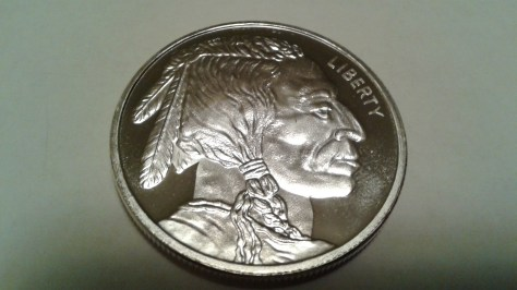 Mouse over image to zoom      Silver-American-Indian-Head-and-Buffalo-1-OZ-999-Fine-Silver-Round     Silver-American-Indian-Head-and-Buffalo-1-OZ-999-Fine-Silver-Round     Silver-American-Indian-Head-and-Buffalo-1-OZ-999-Fine-Silver-Round  Have one to sell? Sell now Details about  Silver American Indian Head and Buffalo 1 OZ .999 Fine Silver Round