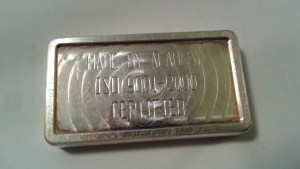 10 Troy Ounce .999 Fine Silver Bar by Academy for APMEX
