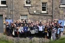 David Mitchell conference 2017 group photo