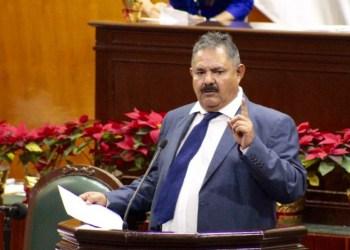Jesus Escamilla, diputado y dirigente estatal del Partido Humanista en imagen de archivo.