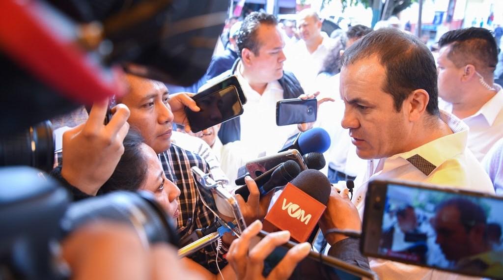 Cuauhtémoc Blanco, gobernador de Morelos.