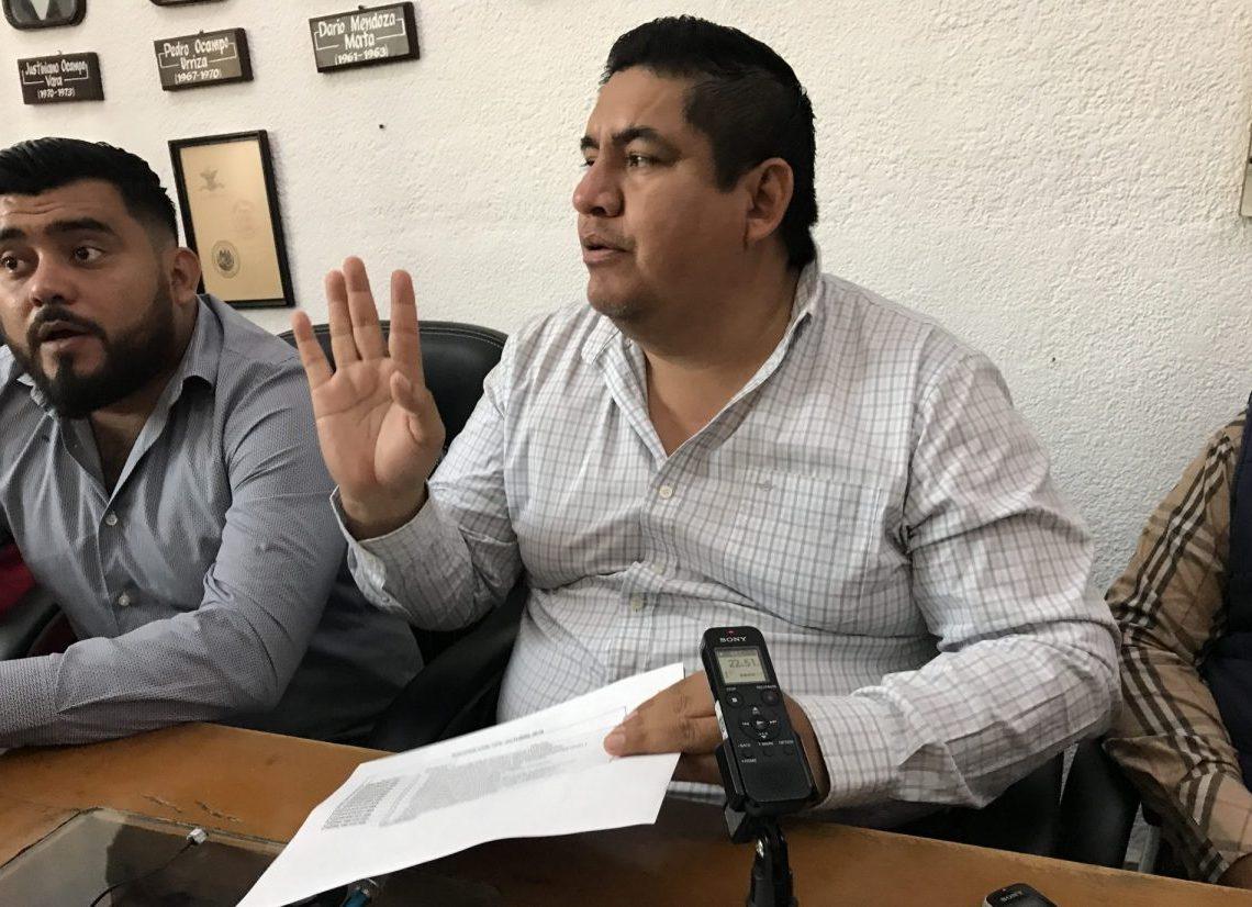 Francisco Salinas Sánchez, alcalde de Zacatepec.