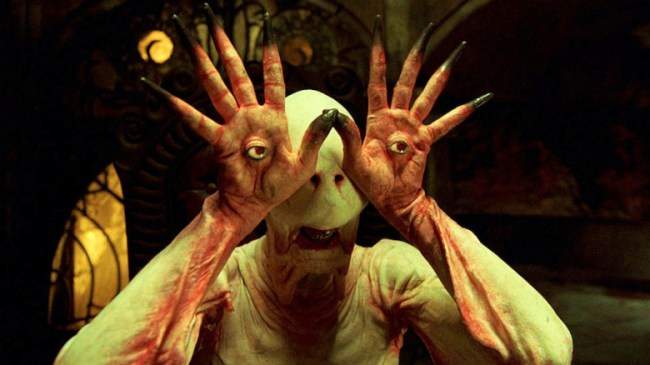 The pale man from Pan's Labyrinth