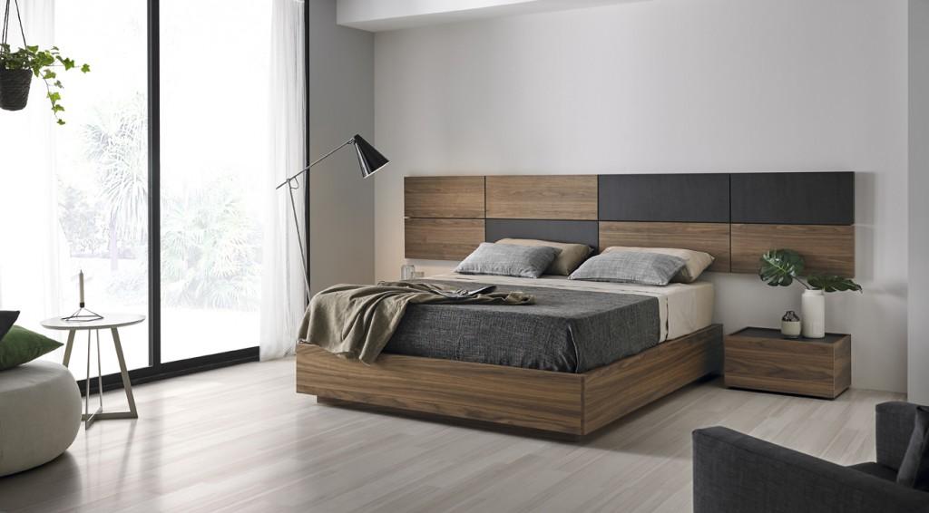 Dormitorios matrimonio de diseo clidos y funcionales