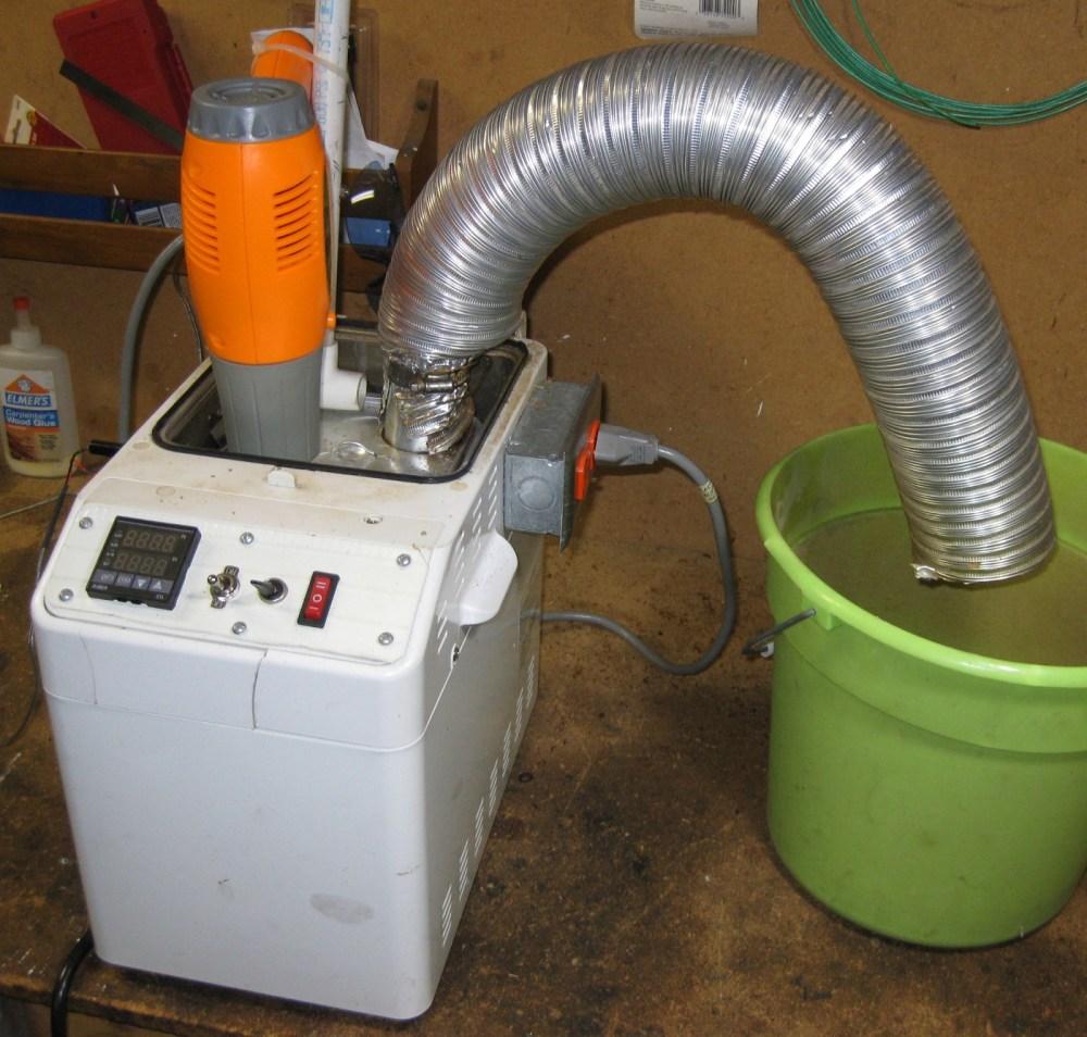 medium resolution of roaster in use