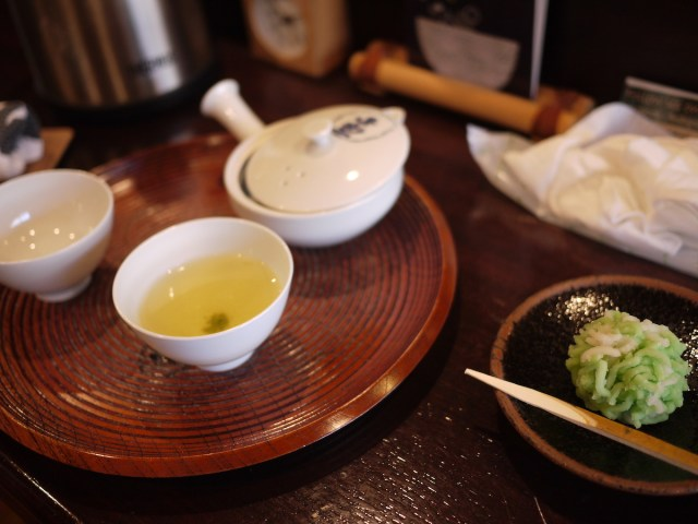 Tea at Ippodo Kyoto (2015).