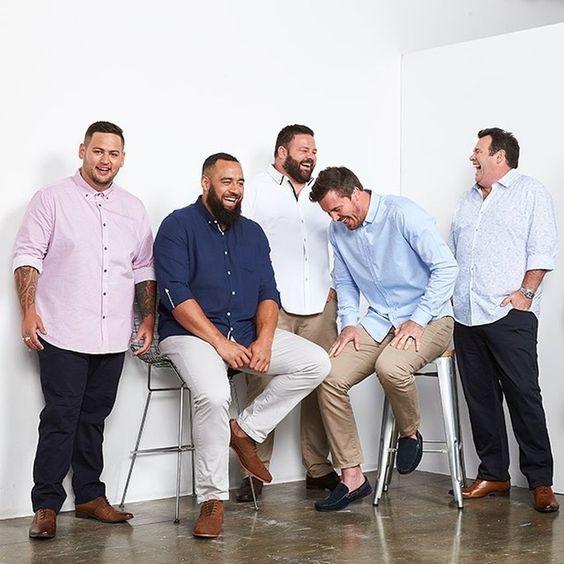 Camisas para Hombres Gordos