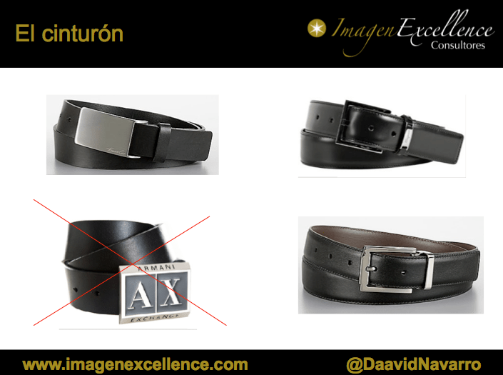 Las 5 reglas de imagen del cinturón 1