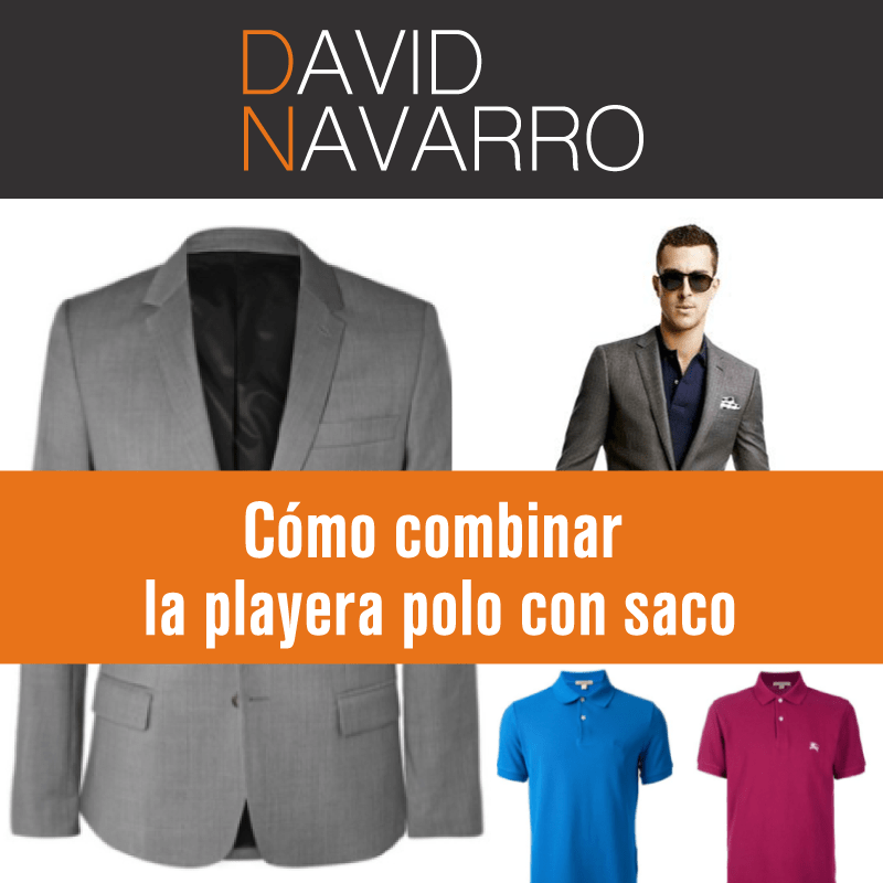 Playera polo con saco