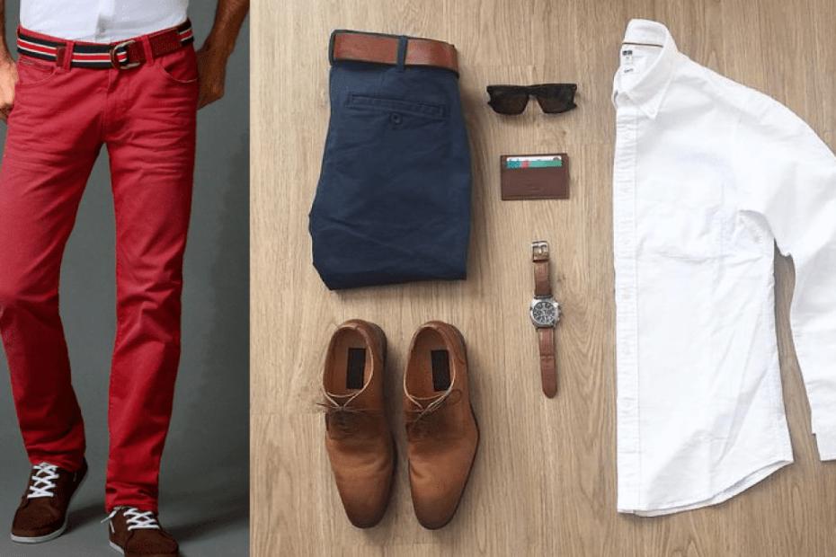 Hombres: 3 reglas de imagen del cinturón casual 4