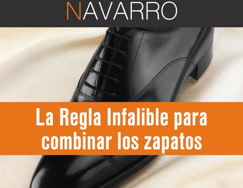 La regla infalible para combinar los zapatos 6