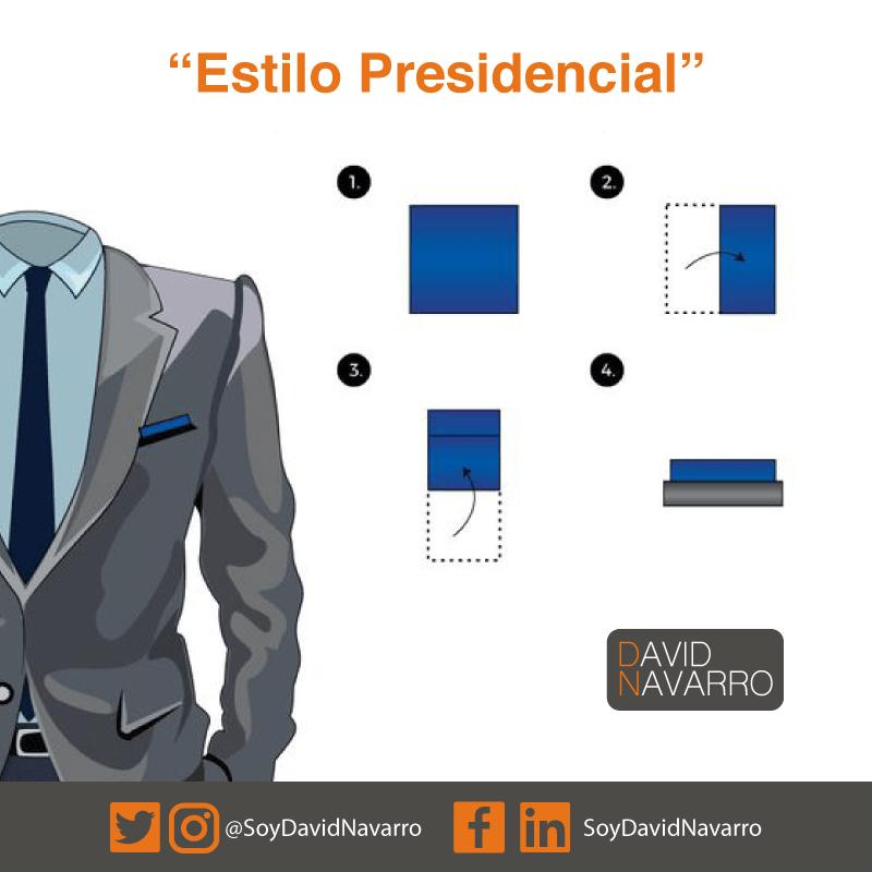 Panuelo Estilo Presidencial