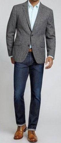 Cómo combinar jeans con saco 3