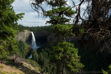 A view of Helmcken Falls in BC.