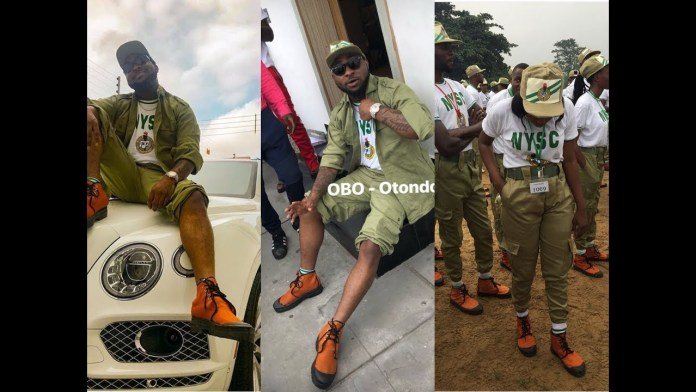 Davido nysc pictures