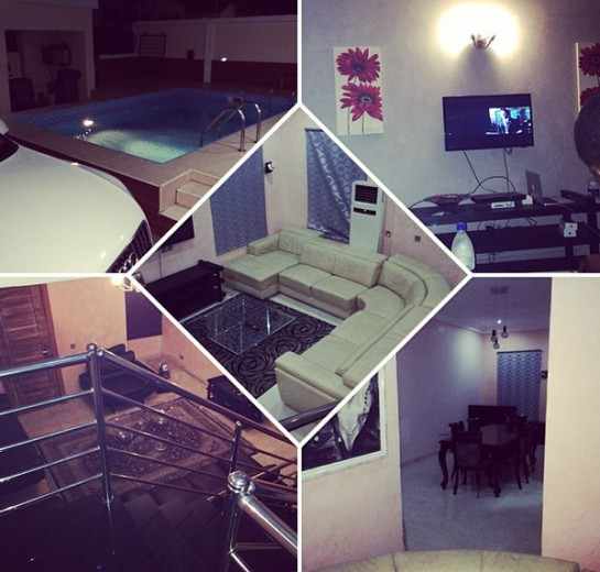 Inside davido house picture