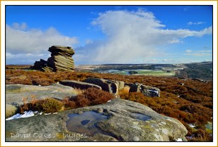 Mother Cap Tor on Hathersage Moor 3