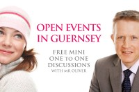 David Oliver Open Events at Guernsey in April-May 2013