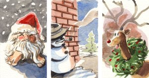 portfolio image of Christmas Cards