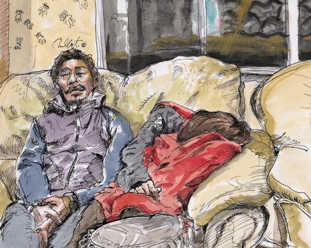 portfolio image of Ushi and Asami Sleeping